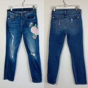 7 Seven For All Mankind Jeans High Rise 24 Skinny